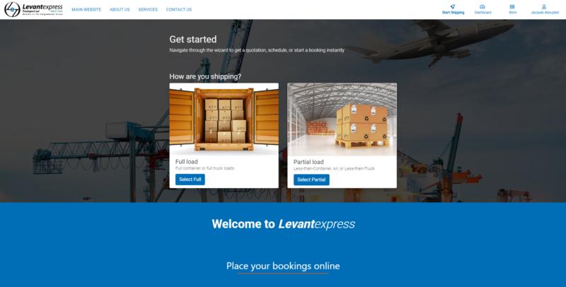 My.Cargo Landing Levant Express